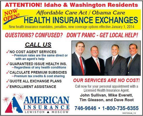 Health Exchange Update 10/25/13 - American Insurance in ...